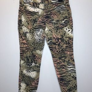 BDG Jeans - BDG Animal Print High Rise Jeans Size 29
